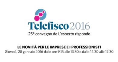 Convegno Telefisco 2016